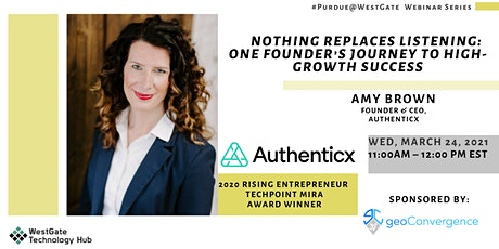 Nothing Replaces Listening: One Founder's Journey to High-Growth Success tickets
