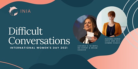 Difficult Conversations Workshops Package | IWD 2021 tickets