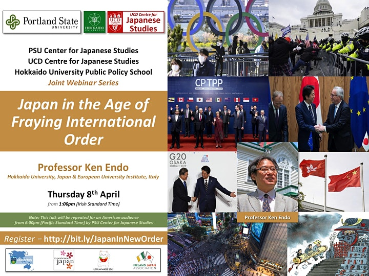 Japan in the Age of Fraying International Order image