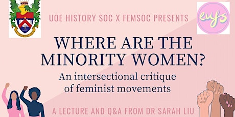 Where Are The Minority Women? A Lecture and Q&A from Dr. Sarah Liu tickets