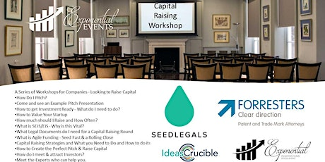 How to Raise Capital for Your Start Up Workshop tickets