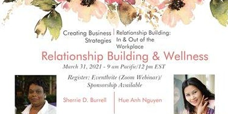Relationship Building & Wellness tickets