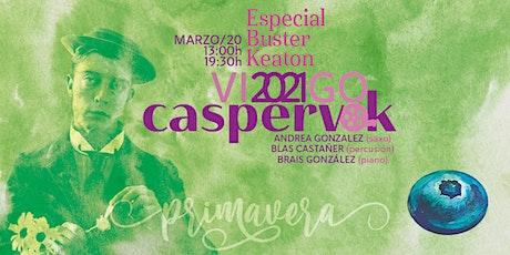 Caspervek en Vigo 2021 - Especial Buster Keaton entradas