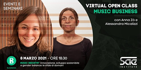 Virtual Open Class • Music Business biglietti