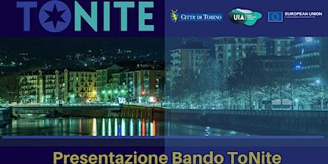 Presentazione Bando ToNite_TCL biglietti