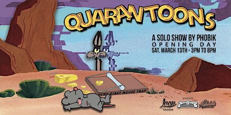 QuaranToons: a solo show by Phobik tickets