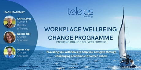WORKPLACE WELLBEING CHANGE PROGRAMME - Ensuring Change Delivers Success tickets