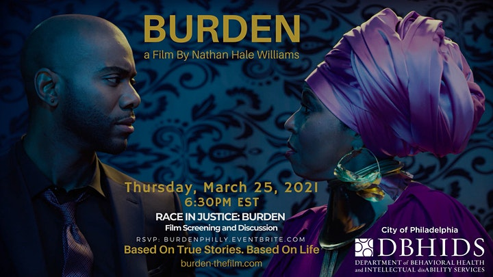 DBHIDS present Race in Justice: BURDEN film screening and discussion image