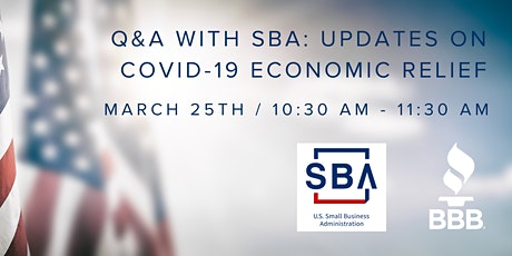 Q&A with SBA: Updates on COVID-19 Economic Relief tickets