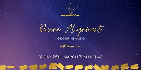 Divine Alignment Group Healing tickets