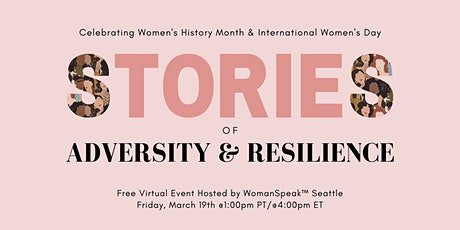 Women's Stories of Adversity & Resilience tickets