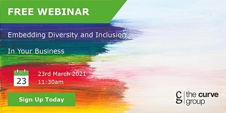 Embedding Diversity and Inclusion In Your Business tickets