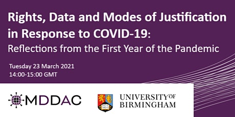Rights, Data and Modes of Justification in Response to COVID-19 tickets