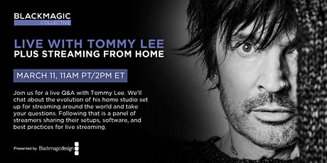 BMC: Live with Tommy Lee | Plus Streaming at Home tickets