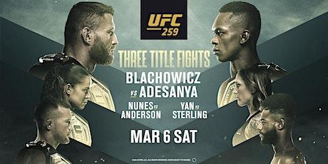 UFC 259 ||| BLACHOWICZ VS ADESANYA tickets