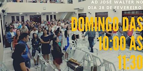 CULTO DE CELEBRAÇÃO AO SENHOR - 07/03 ingressos