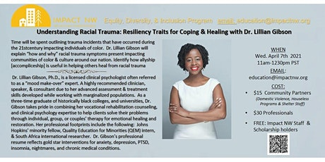 Understanding Racial Trauma: Resiliency Traits for Coping & Healing tickets