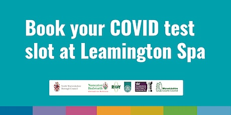 Leamington COVID Community Testing Site – 9th March tickets
