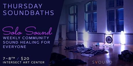 Weekly Soundbaths on Thursday tickets