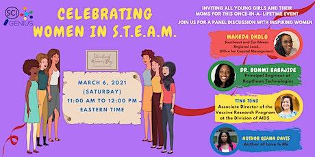 Celebrating Women in S.T.E.A.M. tickets
