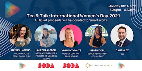 Tea and Talk: International Women's Day Edition 2021 tickets