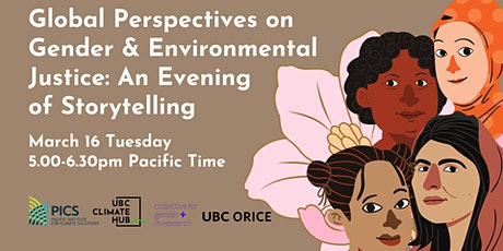 Global Perspectives on Gender and Environmental Justice tickets