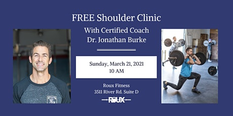 Shoulder Clinic tickets