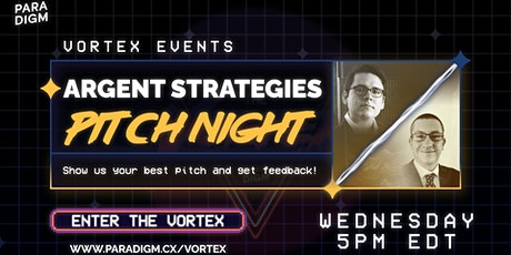 Pitch Night with Argent Strategies tickets