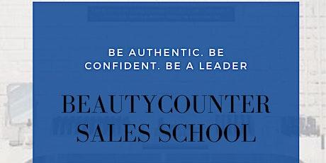 Beautycounter Sales School tickets