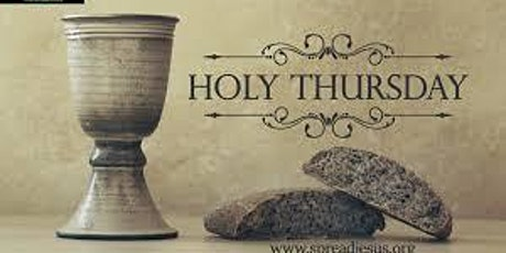 Holy Thursday (April 1st 2021) Bilingual Mass @ 8.00 pm tickets