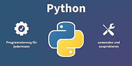 Workshop: Python – Programmieren für jedermann Tickets