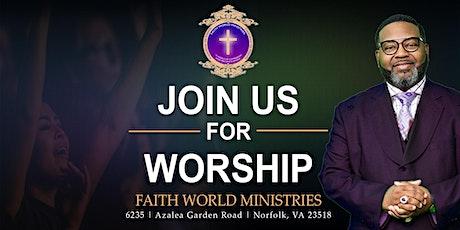 Sunday  or Wednesday Worship Celebration Service tickets