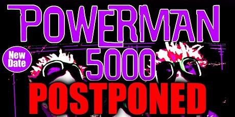 Powerman 5000 tickets