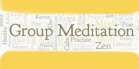 Online Group Meditation tickets