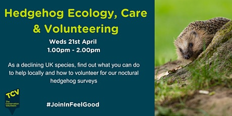 HogWatch Scotland – Hedgehog Ecology, Care and Volunteering tickets