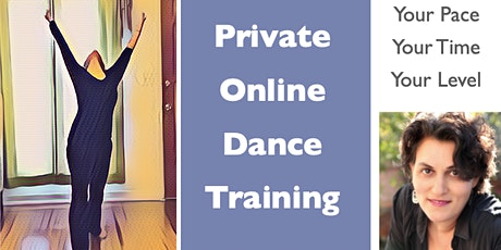 Private Online Dance Training tickets