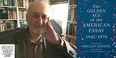 P&P Live! Phillip Lopate | THE GOLDEN AGE OF THE AMERICAN ESSAY tickets