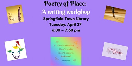 Poetry of Place: A Writing Workshop tickets