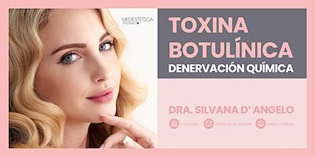 Curso de Toxina Botulínica. Denervación química entradas