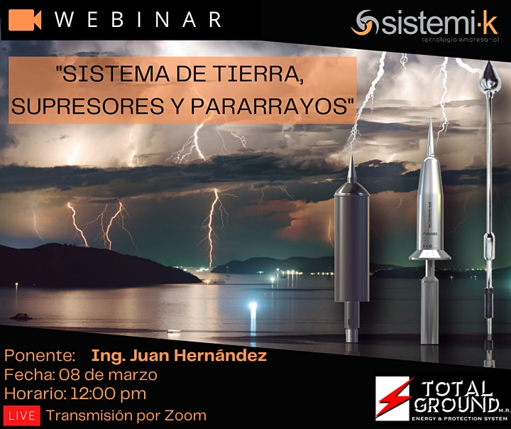 Imagen de Sistemas De Protección Atmosférica Y Pararrayos.