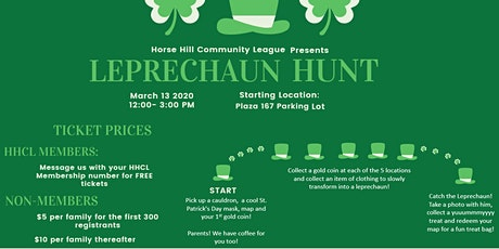 St.Patrick's Day Leprechaun Hunt tickets