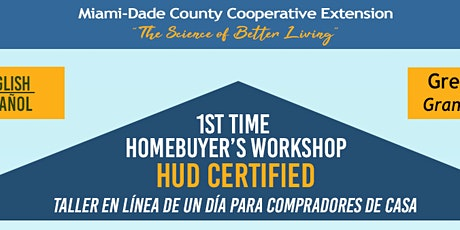 1st Time Homebuyer Workshop (Spanish One-Day) tickets