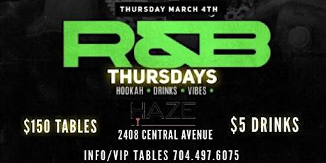 R&B THURSDAY'S at Haze Bar & Lounge tickets