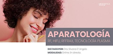 Curso de Aparatología: RF, HIFU, RFfrax, Tecnología Plasma entradas