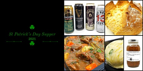 St Patrick's Day Supper for Two tickets