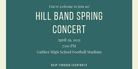 Hill Band Spring Concert tickets