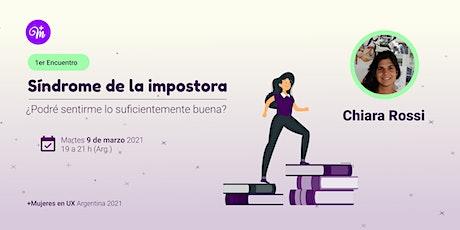 1er Encuentro de +M 2021 - Síndrome de la Impostora boletos