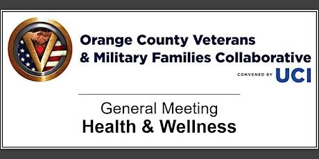OCVMFC General Meeting - Veteran Health & Wellness tickets