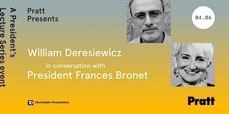 Pratt Presents: William Deresiewicz in conversation with President Bronet tickets