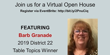 Tower Talkers Virtual Open House tickets